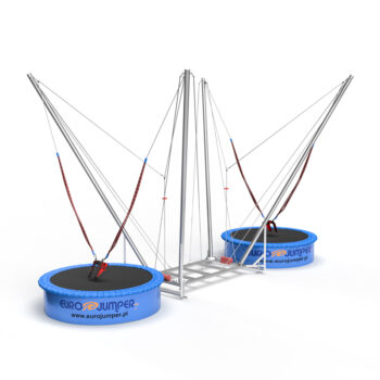 2in1 Eurojumper bungee trampoline 2 person